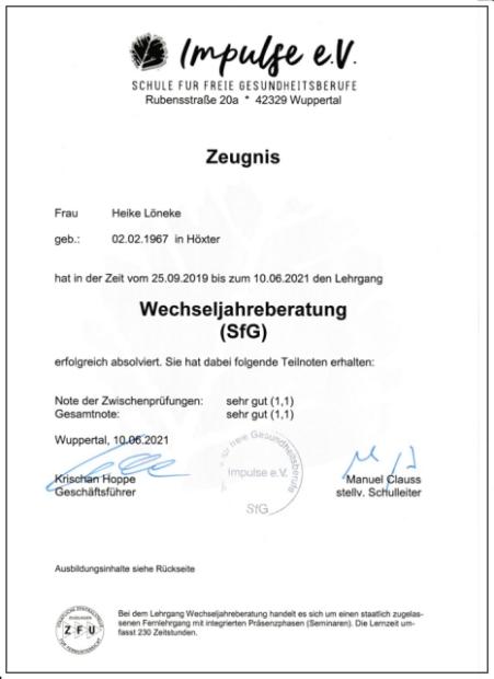 Zertifikat Wechseljahresberatung_620