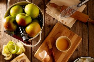 Apfel-Quark Auflauf